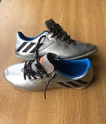 ADIDAS  16.4 Silver Football Boots Shoes Size UK 7