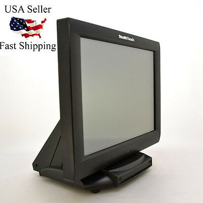 """Pioneer StealthTouch-M5 POS 15"""" Touchscreen Terminal for Retail, Restaurant, Bar"""