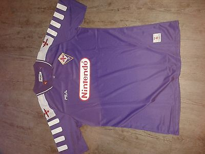 Retro football shirt Fiorentina  Batistuta era 98/99 Medium see size info