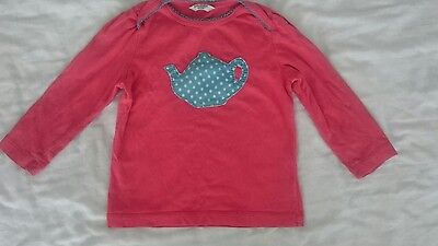 BABY BODEN lovely girls top, age 12-18 months