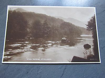 "Vintage Postcard -  Photo of ""Still Waters"", St Fillans, Perth, Scotland"
