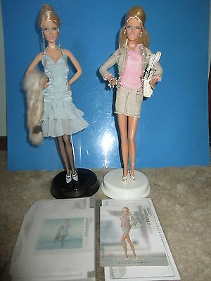Lot Of 2 Model Of The Moment~~Daria Celebutante & Shopping Queen Dolls~~No Boxes