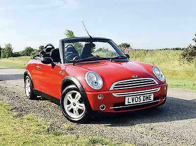Mini One Convertible 1.6 Petrol Summer Fun! Cooper Convertible Spec
