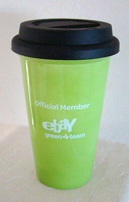 eBay Travel Mug Ceramic Mug Cup eBay on Location Official Member Green Team