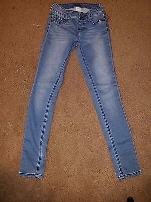 Justice Girls Jeans  Size 10 Slim Simply Low Jeggings Medium Wash  B