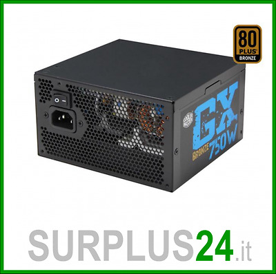 Alimentatore COOLER MASTER GX750W ATX 750W Power Supply