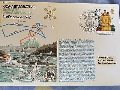 RNSC2 3. Commemorating the Battle of the Barents Sea.