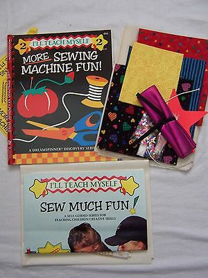 More Sewing Machine Fun - A Dreamspinner Discovery Series Book 2 and Kit