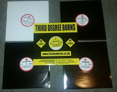 5x Hard House/Trance vinyl on FRICTION BURNS RECORDS and THIRD DEGREE BURNS