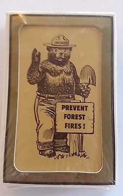 Smokey Bear Playing Cards Gemaco Traditional Deck With Smokey Facts New Unused