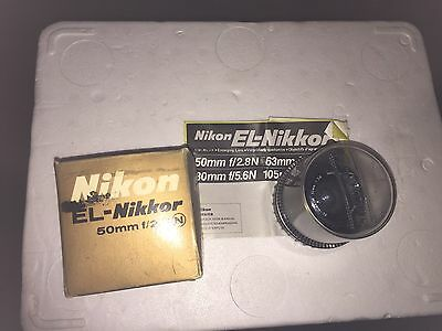 Nikon EL-Nikkor 50mm 2.8 Enlarging Lens