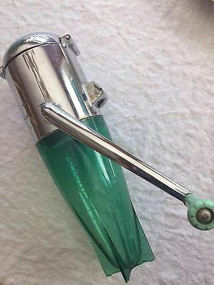 Vintage Dazey Retro Bullet Ice Crusher, Wall Mount, Model 160, Mid Century
