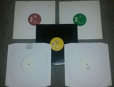 5 x Hard House/Trance Vinyl Records from TOO STRONG Label