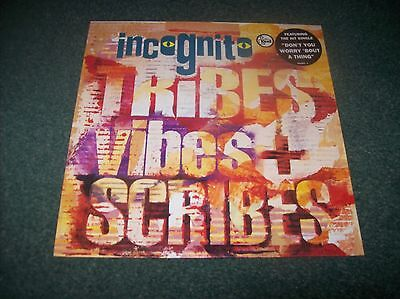 Incognito - Tribes Vibes + Scribes LP UK issue from 1992 Talkin' Loud 512 363-1