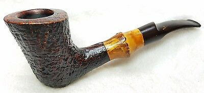 Vintage Savinelli Autograph 5 Pipe Bamboo - Excellent Condition