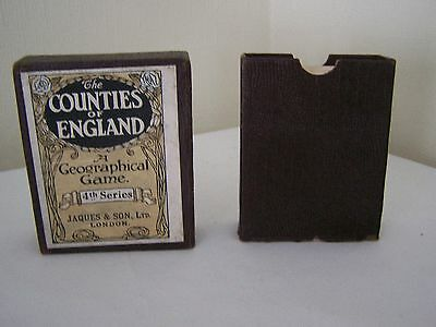 The Counties of England card game- southern counties - Fourth Series (Jaques)