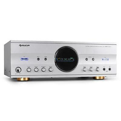 Auna Audio Surround Sound Receiver Hifi Amplifier 600W Home Theatre Cinema Amp
