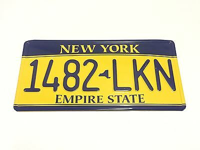 USA American Style licence plate, Metal number plate, NEW YORK- EMPIRE STATE