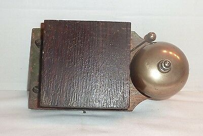 Antique Electric Door Bell Alarm Bell