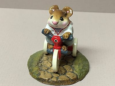"WEE FOREST FOLK-1983 ""Mousey's Tricycle"" M-101-Retired!"