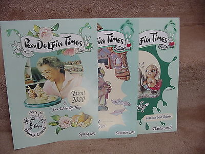 3 Issues 2000 Pendelfin Times from Family Circle