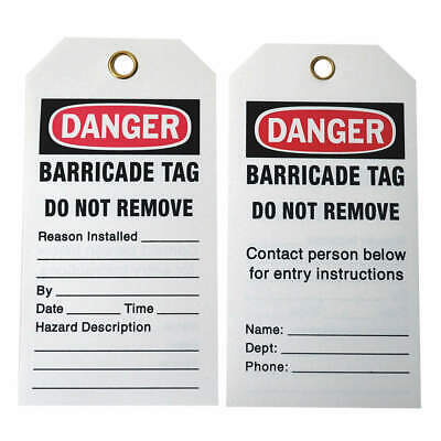 BRADY Caution Tag,5-3/4in. H x 3in. W,Pe,PK25, 132422