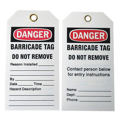 BRADY Polyester Caution Tag,5-3/4in. H x 3in. W,Pe,PK25, 132422