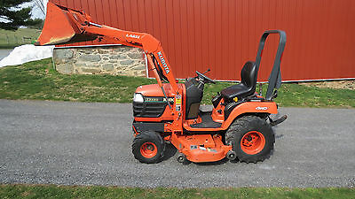 2003 Kubota Bx2200 4X4 Compact Tractor Loader & Belly Mower Hydrostatic Diesel