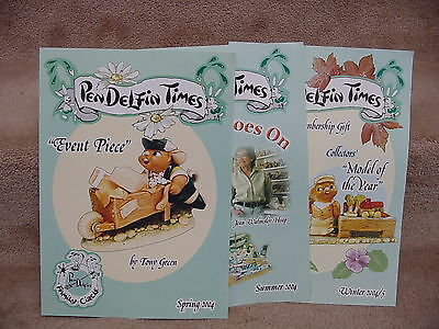 3 Issues Pendelfin TIMES FROM FAMILY CIRCLE 2004