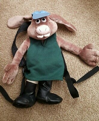 Wallace and Gromit HUTCH Curse of theWere-Rabbit Back Pack Bag 2005