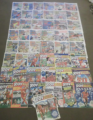52 x ROY OF THE ROVERS from 1986 - Complete Year