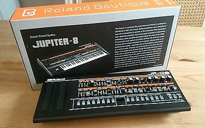 Roland Boutique JP-08 Synthesizer module Jupiter 8 emulator OVP MIDI USB