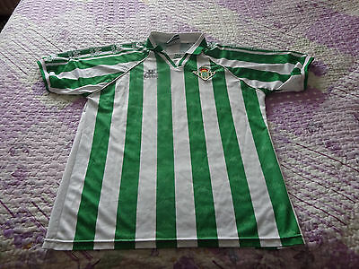 Real Betis Used Home Shirt 95/97 Xl