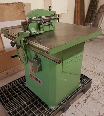 Sedgwick Three Phase Rip Saw.