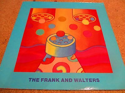 """The Frank and Walters - Happy Busmen / the world carries on 12"""" Single Indie Ex"""