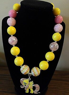 Kid's Chunky Beaded Necklace - My Little Pony