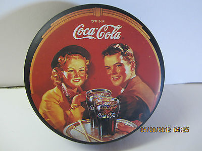 Coca Cola Trinket Box -Tin-1988- Nostalgic!!! Bright & Colorful!!