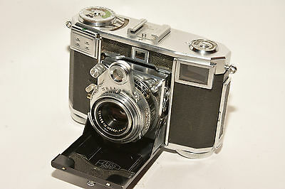 Zeiss Ikon Contessa 35 With Zeiss Opton Tessar 2.8 Lens Mx Synch