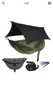 ENO Onelink One Link Double Nest Hammock Pro Fly Atlas Navy/Olive Brand New!