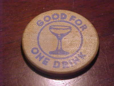 """Good for One Drink"" token from American Federal Mortgage Corp."