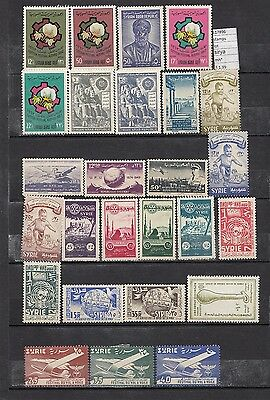 Stamps  Lot Syria  Mh*   (L17896)