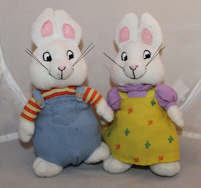 Max Ruby Bunny Plush Ty Bunnies Rabbits Toy TV Characters