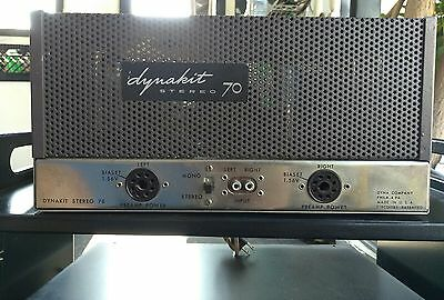 Dynaco Dynakit Stereo ST-70 Tube Amplifier Amp 50's RARE !!! Manual Inc.