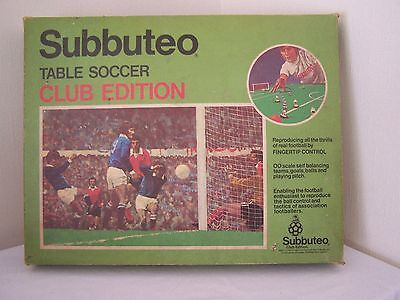 Vintage Subbuteo Table Soccer Club Edition Boxed (1970's)