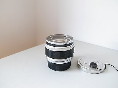 Canon 50mm f1.2 FAST Canon Rangefinder LEICA fit Camera Lens c/w LTM- M Adapter