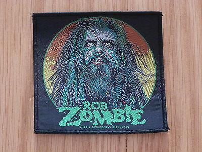 Rob Zombie - Zombie Face (New) Sew On W-Patch Official Band Merchandise