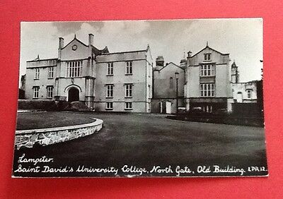 Lampeter - St. David's University College - North Gate . Old building 1950s/60s