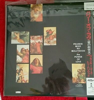 """Frankie goes to hollywood power of love japan 12"""" near mint cheap UK postage"""