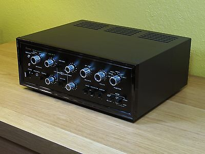 Sansui AU-777 stereo integrated amplifier in wood case. Just serviced!