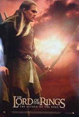 """Lord Of The Rings Legolas Poster / Orlando Bloom 24"""" X 36"""" - Out Of Print"""